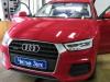 Audi Q3 ustanovka zamkov na AKPP i kapot