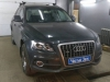 Audi Q5 diagnostika i nastroika usilitelia so vstroennim processorom