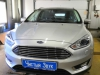 Ford Focus ustanovka setki v bamper i radar-detektora