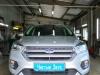Ford Kuga ustanovka setki v perednii bamper