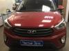 Hyundai Creta ustanovka radar-detektora i videoregistratora, tonirovanie