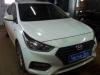 Hyundai Solaris ustanovka modulia zapuska k signalizacii Scher-Khan Mobicar 1