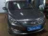 Hyundai Solaris ustanovka signalizacii StarLine A93