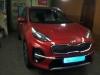 Kia Sportage ustanovka signalizacii StarLine E96 i zamka na kapot