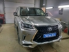 Lexus LX450d ustanovka zamka na rulevoi val i razblokirovka kartinki v dvijenii