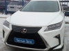 Lexus RX ustanovka signalizacii StarLine S96, zamkov na kapot i KPP, setki v bamper
