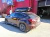 Lexus RX300 ustanovka poperechin i boksa Thule na krishu