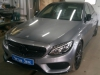 Mercedes-Benz C-Klasse W205 ustanovka signalizacii Prizrak 8GL