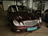 Mercedes-Benz E-klasse ustanovka zamka na KPP
