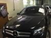 Mercedes-Benz GLS tonirovanie stekol i ustanovka setki v bamper