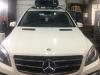 Mercedes ML ustanovka bagajnika i boksa