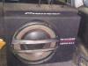 Mitsubishi Pajero Pinin ustanovka sabvufera Pioneer TS-WX305B