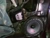 ustanovka koaksialnih dinamikov i komponentnoi akustiki