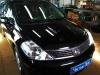 Nissan Tiida ustanovka golovnogo ustroistva Pioneer MVH-G110