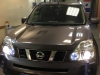 Nissan X-Trail tonirovanie stekol