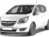 Opel Meriva ustanovka komponentnoi i koaksialnoi akustiki