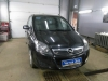 Opel Zafira ustanovka golovnogo ustroistva 2DIN