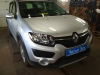 Renault Sandero ustanovka golovnogo ustroistva 2DIN i kamer zadnego vida