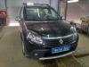 Renault Sandero ustanovka koaksialnih dinamikov Pioneer v perednie dveri