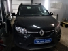 Renault Sandero ustanovka signalizacii StarLine A63