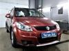Suzuki SX4 ustanovka golovnogo ustroistva 2 DIN