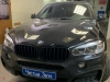 Tonirovanie bez perednih stekol, bronirovanie porogov i ruchek na BMW X6
