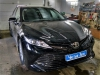 Toyota Camry ustanovka zamka na rulevoi val i deflektorov