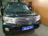 Toyota Land Cruiser 200 ustanovka zamka na KPP Fortus