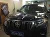 Toyota Land Cruiser Prado tonirovanie bez perednih stekol