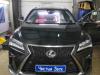 Ustanovka besshtirevogo zamka na Lexus RX300