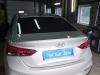 Установка парктроника на Hyundai Solaris (4)