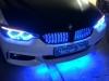 Установка подсветки решетки радиатора а/м BMW 420 D.jpg