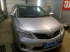 Ustanovka signalizacii i golovnogo ustroistva na Toyota Corolla
