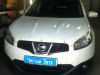 Ustanovka signalizacii na Nissan Qashqai