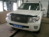 Ustanovka signalizacii na Toyota Land Cruiser 200