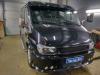 Ustanovka usilitelia i golovnogo ustroistva na Ford Transit