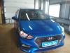 ustanovka usilitelia Prology na Hyundai Solaris