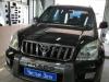 Ustanovka zamka KPP na Toyota Land Cruiser Prado