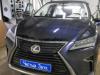 Ustanovka zamka na kapot Lexus RX350