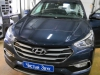 Ustanovka zamka na KPP Hyundai Santa Fe