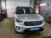Ustanovka zamka Garant na rulevoi val Hyundai Creta