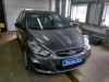 Ustanovka zamka Garant na rulevoi val Hyundai Solaris