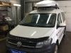 Volkswagen Caddy ustanovka boksa na krishu