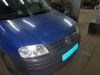 VW Caddy regulirovka far