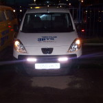 ustanovka hodovix ogney na  Peugeot Boxer (2)