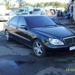 Ustanovka muziki na Mercedes 220 (9)