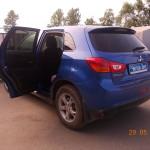 Tonirovanie i bronirovanie Mitsubishi ASX  (3)