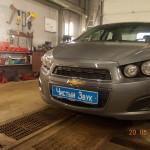 Ustanovka signaliz yna Chevrolet Aveo (1)