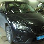 Ustanovka mehanicheskokogo zamka Mazda  (1)
