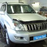 Ustanovka mehanicheskoi zashitu na KPP Toyota Land Cruiser Prado 120  (1)